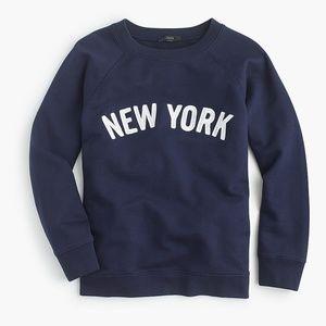 J. Crew | New York sweatshirt
